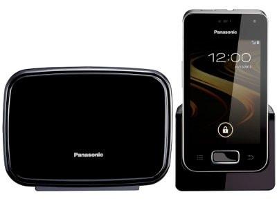 Panasonic KX-PRX110GRW Ασύρματο τηλέφωνο Λευκό