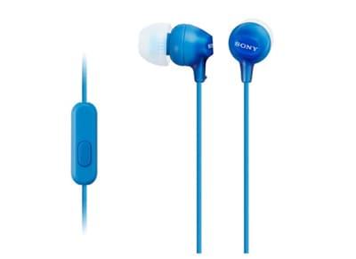 Handsfree Ακουστικά Sony MDR-EX15AP Μπλε