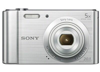 Compact Sony Cyber-shot DSC W800 - Ασημί