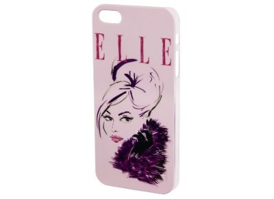 Θήκη iPhone 4/4s - Hama Elle Cover Lady 4047443218780 Ροζ