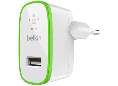 Αντάπτορας Πρίζας Universal USB 2.1Amp - Belkin Home Charger F8J052CWWHT Λευκό apple   αξεσουάρ iphone   φορτιστές   καλώδια
