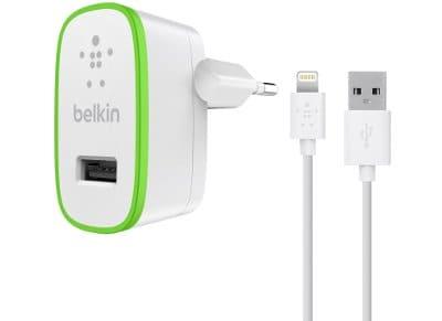 Φορτιστής Πρίζας Universal USB/Lightning 2.4Amp - Belkin Boost Up Home Charger F apple   αξεσουάρ ipad   φορτιστές
