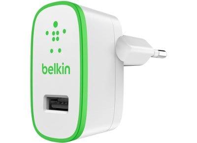 Αντάπτορας Πρίζας Universal USB 2.4Amp - Belkin Boost Up Home Charger F8J040VFWHT Λευκό