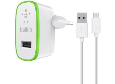 Φορτιστής Πρίζας Universal USB/Micro USB 2.1Amp - Belkin Home Charger F8M667VF04 apple   αξεσουάρ iphone   φορτιστές   καλώδια