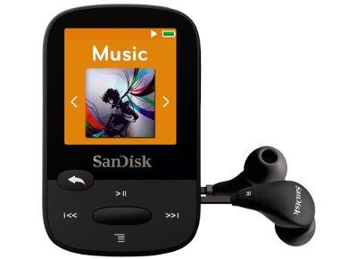 MP3 SanDisk Clip Sport 4GB Μαύρο