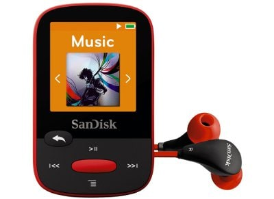 MP3 SanDisk Clip Sport 4GB Κόκκινο