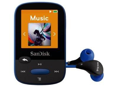 MP3 SanDisk Clip Sport 8GB Mπλε