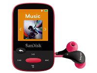 MP3 SanDisk Clip Sport 8GB Ροζ