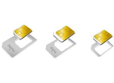 Puro Nano SIM to Micro SIM & Nano SIM to SIM Adapter