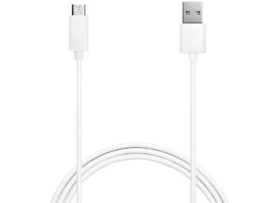 Καλώδιο USB to Micro USB 1m - Puro Power & Data Cable MICROUSBCABLEC2 Λευκό