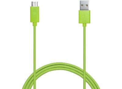 Καλώδιο USB to Micro USB 1m - Puro Power & Data Cable MICROUSBCABLEC3 Πράσινο