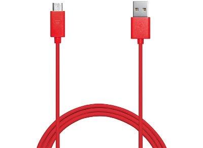 Καλώδιο USB to Micro USB 1m - Puro Power & Data Cable MICROUSBCABLEC3 Κόκκινο