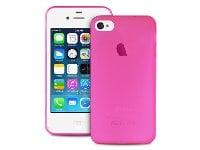 Θήκη iPhone 4/4s - Puro Ultra Slim IPC403PNK - Ροζ