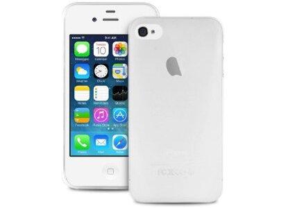 Θήκη iPhone 4/4s - Puro Ultra Slim IPC403TR - Διαφανές Λευκό
