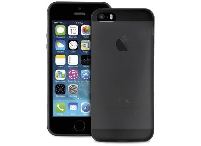 Θήκη iPhone 5/5s - Puro Ultra Slim IPC503BLK Μαύρο