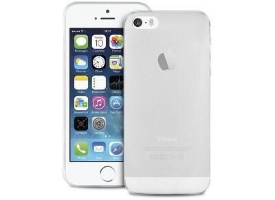 Θήκη iPhone 5/5s - Puro Ultra Slim IPC503TR Διαφανές Λευκό