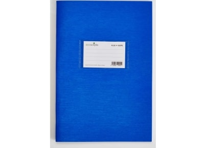 Τετράδιο Καρέ ecoscripta 17x25cm 50 Φύλλα Μπλε
