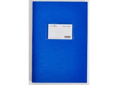 Τετράδιο Μεγάλο Καρέ ecoscripta 17x25cm 50 Φύλλα Μπλε