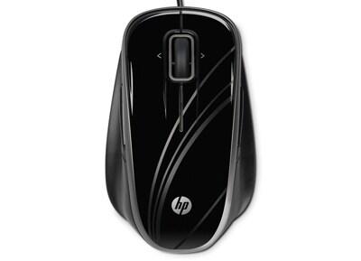 HP USB Optical Comfort Mouse (BR376AA) - Ενσύρματο Ποντίκι - Μαύρο