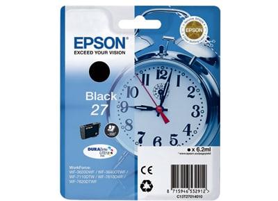 Μελάνι Μαύρο Epson 27 T2701 (C13T27014010)