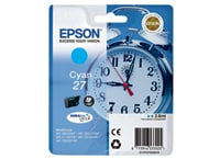 Μελάνι Κυανό Epson 27 T2702 (C13T27024010)