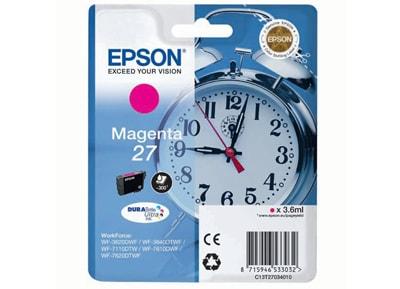 Μελάνι Ματζέντα Epson 27 T2703 (C13T27034010)