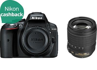 DSLR Nikon D5300 Kit 18-105mm VR - Μαύρο