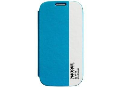 Θήκη Samsung Galaxy S4 - Pantone Universe Bookcase 17-4440 Μπλε τηλεφωνία   tablets   αξεσουάρ κινητών   θήκες