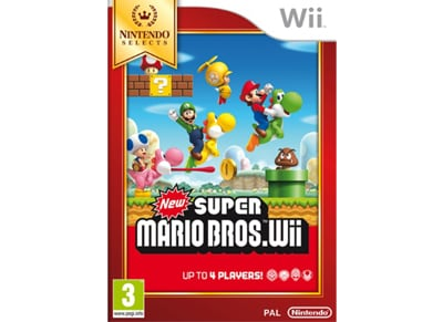 New Super Mario Bros Wii - Wii Selects