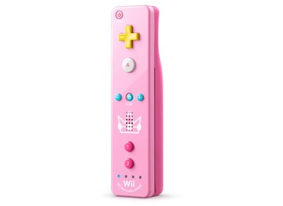 Remote Plus - Nintendo Wii U - Princess Peach Edition