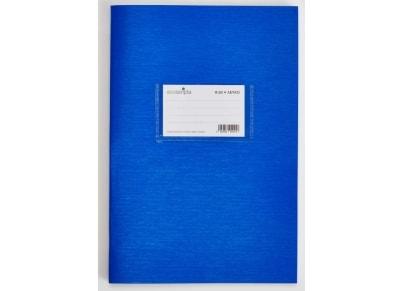 Τετράδιο Λευκό ecoscripta 17x25cm 50 Φύλλα Μπλε