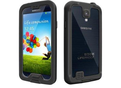 Αδιάβροχη Θήκη Samsung Galaxy S4 -LifeProof Nuud 1803-01 Μαύρο