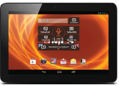 MLS iQTab 10 3G  Tablet 16GB Μαύρο