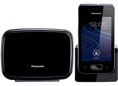 Panasonic KX-PRΧ150GRΒ Ασύρματο Τηλέφωνο Μαύρο