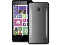 Θήκη Nokia Lumia 630/635 - Puro Clear Case NK630CLEARBLK Μαύρο/Διαφανές