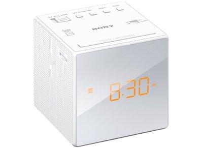 Sony ICFC1W - Ραδιορολόι - Λευκό
