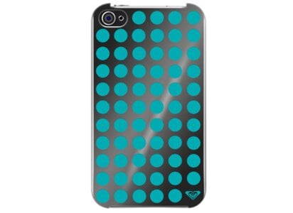 Θήκη iPhone 4/4s - Quicksilver Hard Case Roxy Mirror Μπλε apple   αξεσουάρ iphone   θήκες