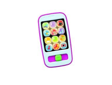 Fisher Price Εκπαιδευτικό Smart Phone Ροζ (CGH59)