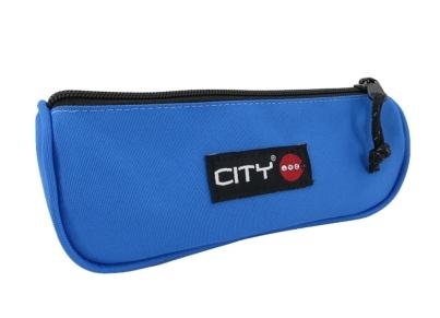 Κασετίνα Βαρελάκι City Cobalt Blue Μπλε