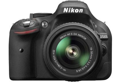 DSLR Nikon D5200 Kit 18-55mm VR II - Μαύρο