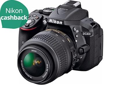 DSLR Nikon D5300 Kit 18-55mm VR - Μαύρο