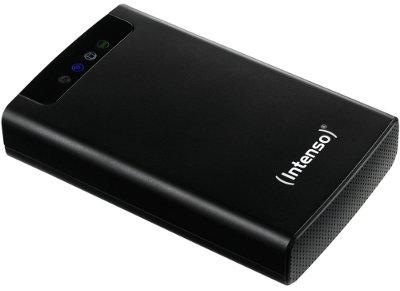 """Εξ. σκληρός δίσκος Intenso 6025530 500GB 2.5"""" USB 3.0 & Ethernet & WiFi Μαύρο"""