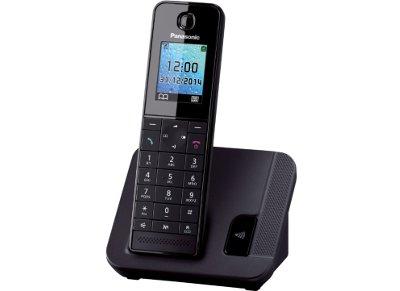 Panasonic KX-TGH210GRB Ασύρματο Τηλέφωνο Μαύρο