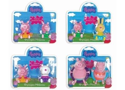 Φιγούρες Peppa Pig (Σετ 2 Τεμαχίων)