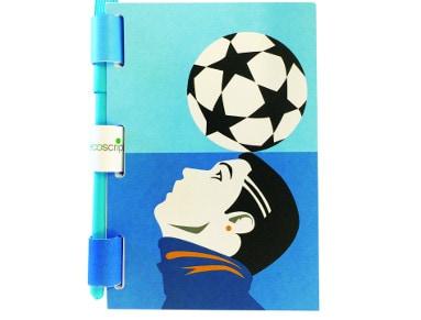 Σημειωματάριο & Στυλό Ecoscripta Ronaldo 5250