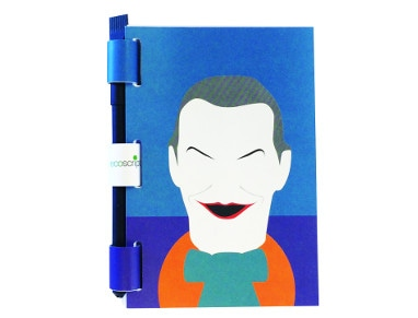 Σημειωματάριο & Στυλό Ecoscripta Joker - Medium