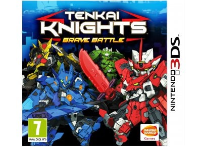 Tenkai Knights: Brave Battle - 3DS/2DS Game
