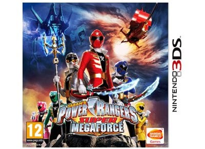 Saban's Power Rangers Super MegaForce - 3DS/2DS Game