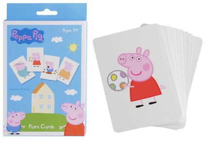 Peppa Pig Κάρτες Ζευγάρια (44106)