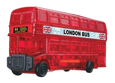 Crystal Puzzle London Bus 3D